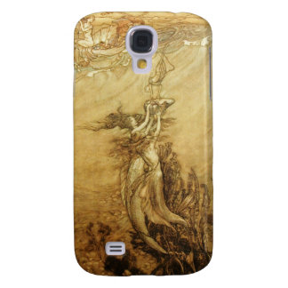 Mermaids Fishing For Pearls Samsung Galaxy S4 Case