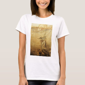 Mermaids Fishing For Pearls T-Shirt