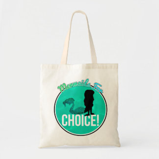Mermaids for Choice! Budget Tote Bag