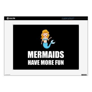 Mermaids Have More Fun Laptop Decal
