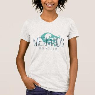 Mermaids Have More Fun Tee | Gray