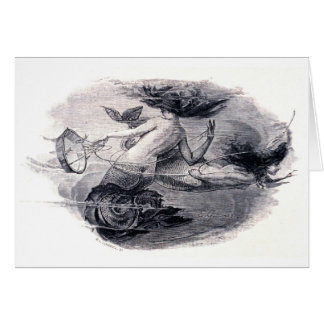Mermaids Illustration Greeting Card