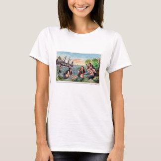 Mermaids in a Cove T-Shirt