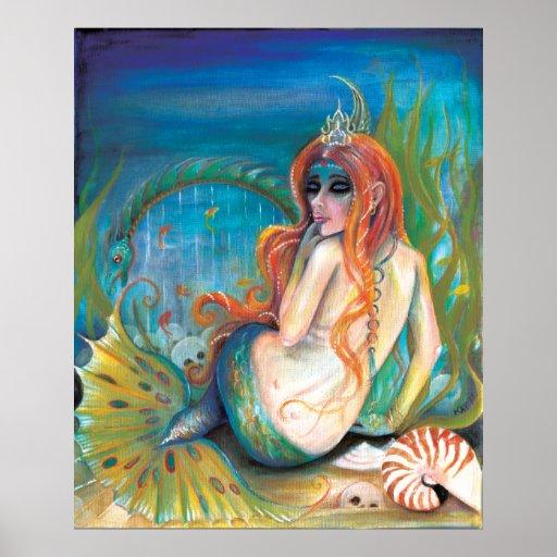 Mermaid's Keep mermaid poster