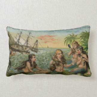 Mermaids Lumbar Pillow