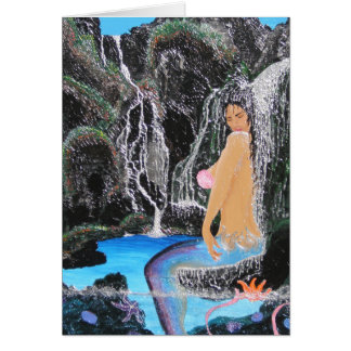 Mermaid's Paradise Abode Card