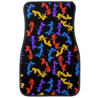 Mermaids pattern car mat