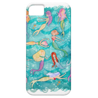 Mermaids - phone case by stephanie corfee iPhone 5 cases