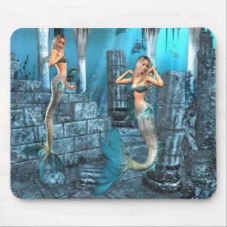 Mermaids Playground Mouse Pad