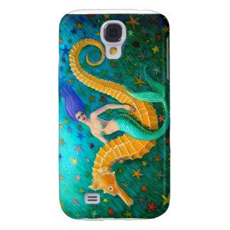 Mermaid's Ride- Seahorse Galaxy S4 Cover