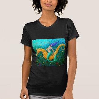 Mermaid's Ride- Seahorse T-Shirt