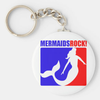 Mermaids Rock! Keychain