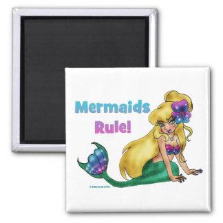 Mermaids Rule Magnet