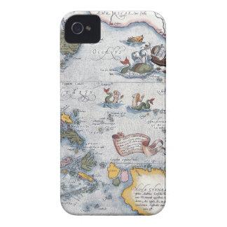 Mermaids & Sea Monsters iPhone 4 Cover