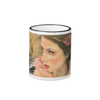 Mermaids Ship Mugs/Cups Ringer Mug