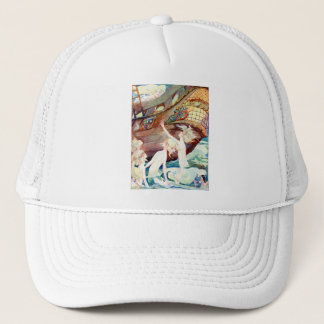 Mermaids Sisters and Ship Trucker Hat
