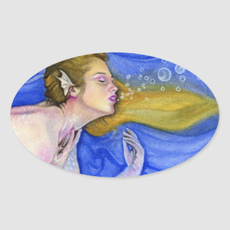 Mermaid's Summer Dream Sticker