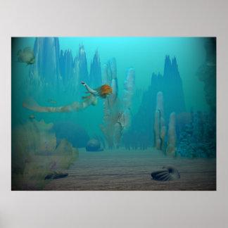 Mermaids Tale ~Print~ Poster
