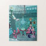 "Mermaids&#39; Tea Party illustration Jigsaw Puzzle<br><div class=""desc"">Mermaids&#39; Tea Party illustration by mermaid.fi</div>"