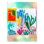 summer, mermaidpostcard, june, july, beach, ocean,