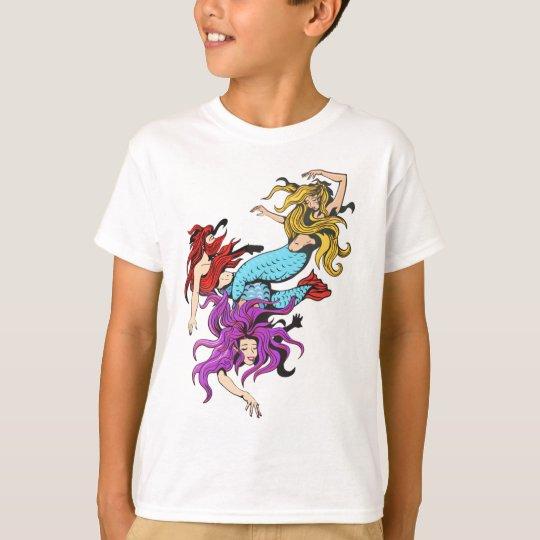 mermaids tshirt_kids T-Shirt