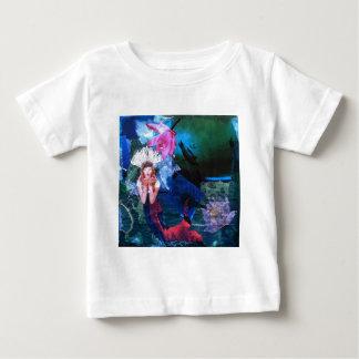 Mermaig Goddess Art Collage With Penguins T Shirt