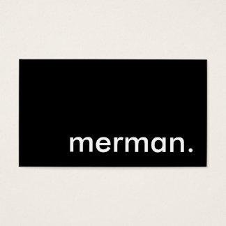 merman. business card