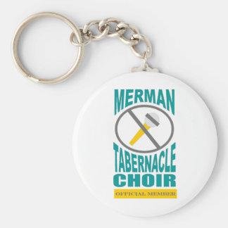 Merman Choir Keychain