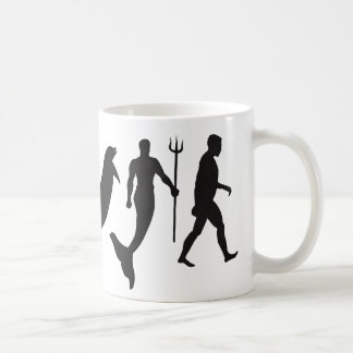 Merman Evolution Coffee Mug