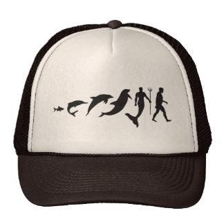 Merman Evolution Trucker Hat