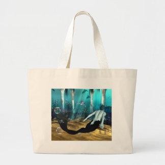 Merman Jumbo Tote Bag
