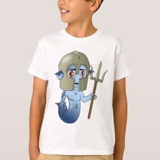 Merman Neptune's Warrior T-Shirt