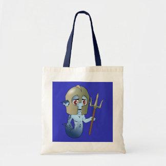 Merman Neptune's Warrior Tote Bag