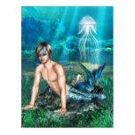 Merman Postcard