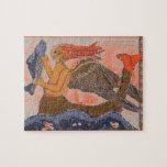 Merman/sirena medievales puzzle