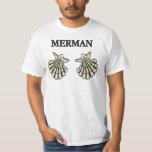 Merman - sujetador de Shell de concha de peregrino Playeras
