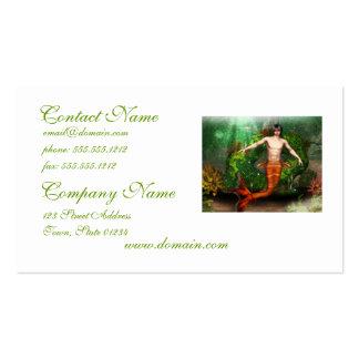 Merman Swimming Business Cards