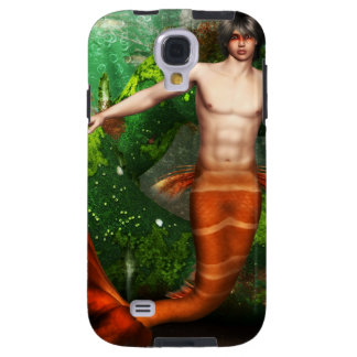 Merman Swimming Galaxy S4 Case