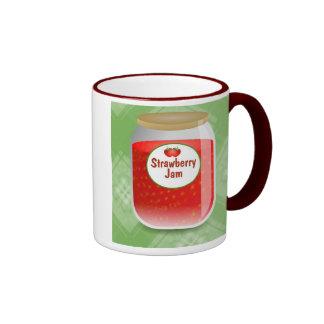 Mermelada de fresa tazas