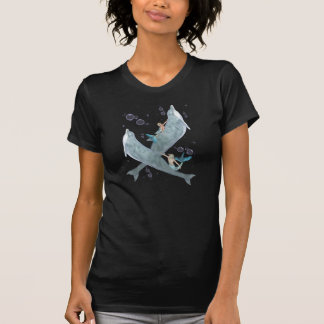 Mermen and Dolphins, fantasy design T-Shirt