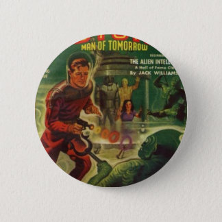 Mermen from the Deep. Pinback Button