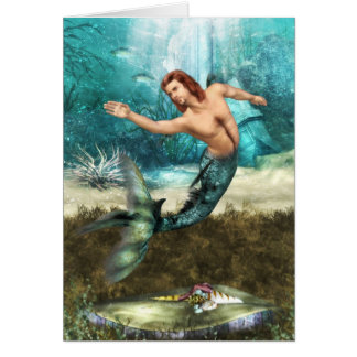 Mermen  Greeting Card