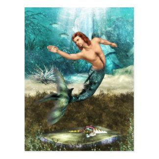 Mermen  Postcard