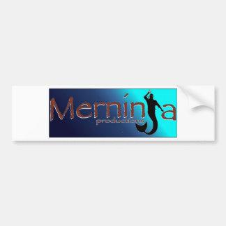 merninja productions bumper sticker
