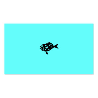 Mero profundo de Charters_Hungry de la pesca en ma Tarjetas De Visita