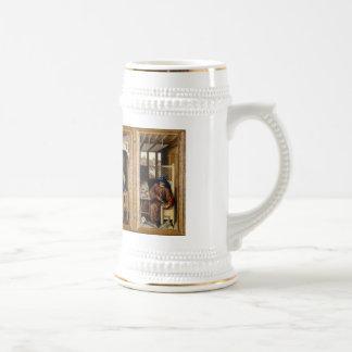 Merode Alterpiece by Robert Campin Beer Stein