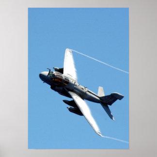 Merodeador de EA-6B Póster