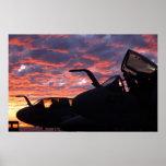 Merodeador de EA-6B Poster