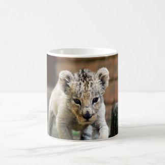 Merodeador del león del bebé taza clásica