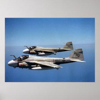 Merodeadores de EA-6B Póster